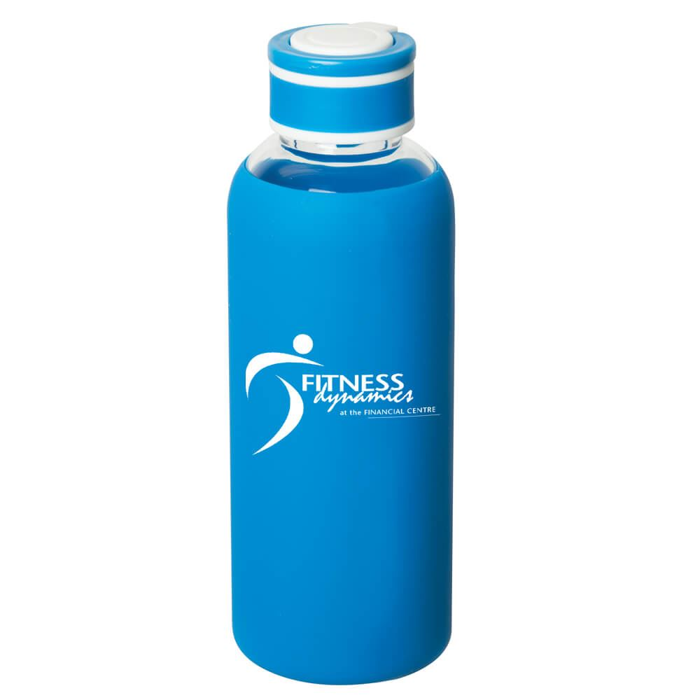 Queensway Borosilicate Glass Bottle 17.5-oz. - Personalization Available