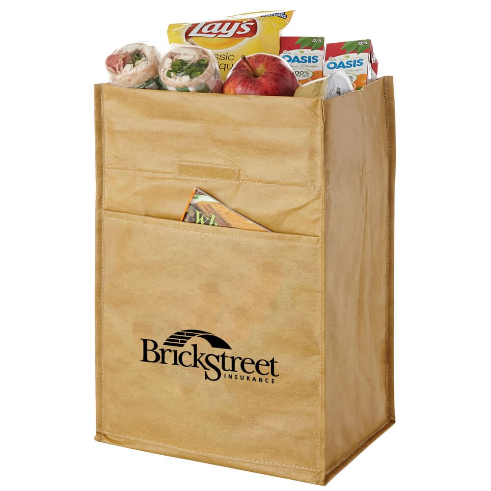 12 Can Paper Bag Cooler - Personalization Available