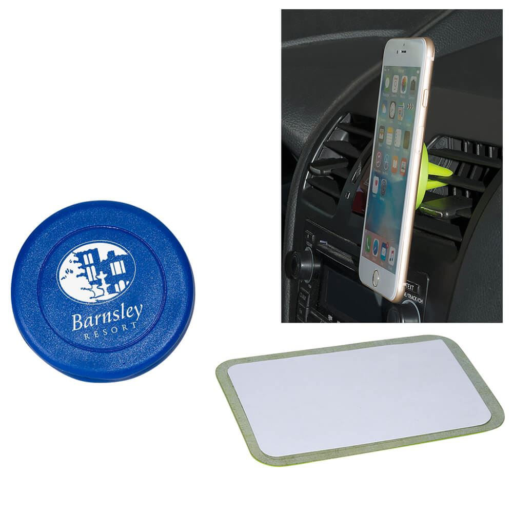 Magnetic Car Vent Phone Holder - Personalization Available