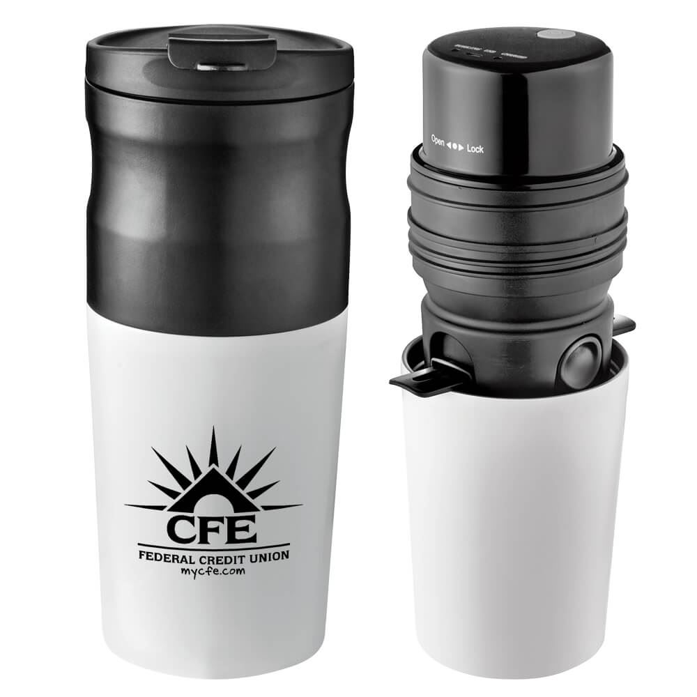 All-In-One Portable Electric Coffee Maker 14-oz. - Personalization Available