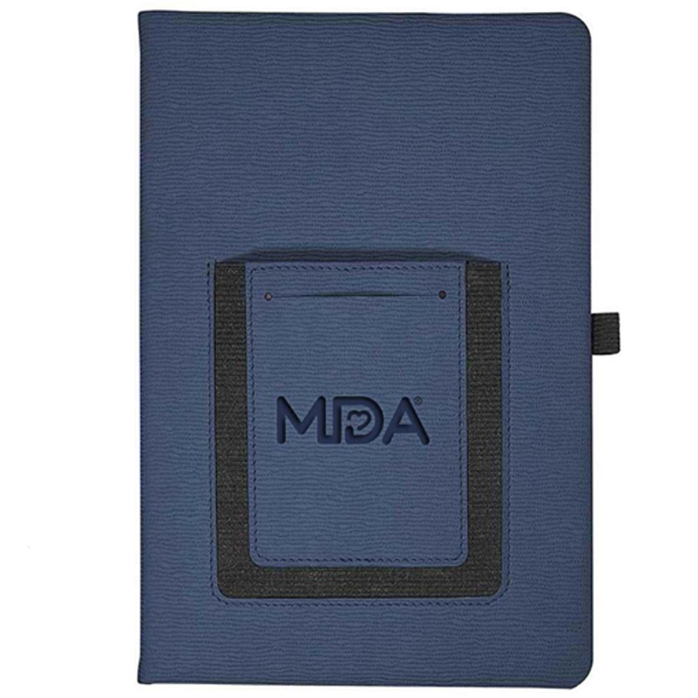 Roma Journal With Phone Pocket - Personalization Available