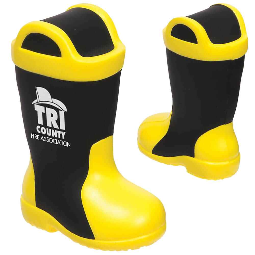 Firefighter Boot Stress Reliever - Personalization Available