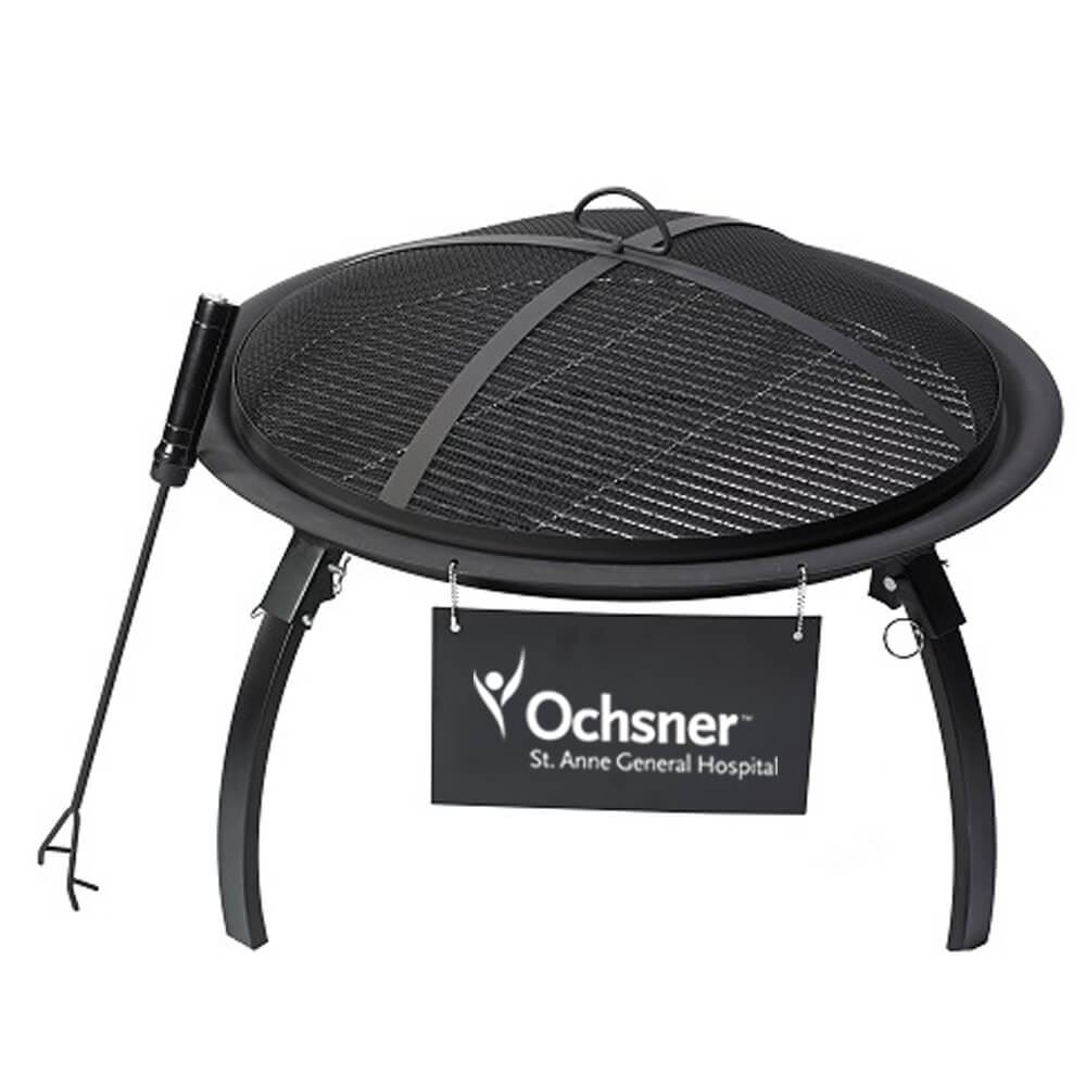 Portable Fire Pit - Personalization Available