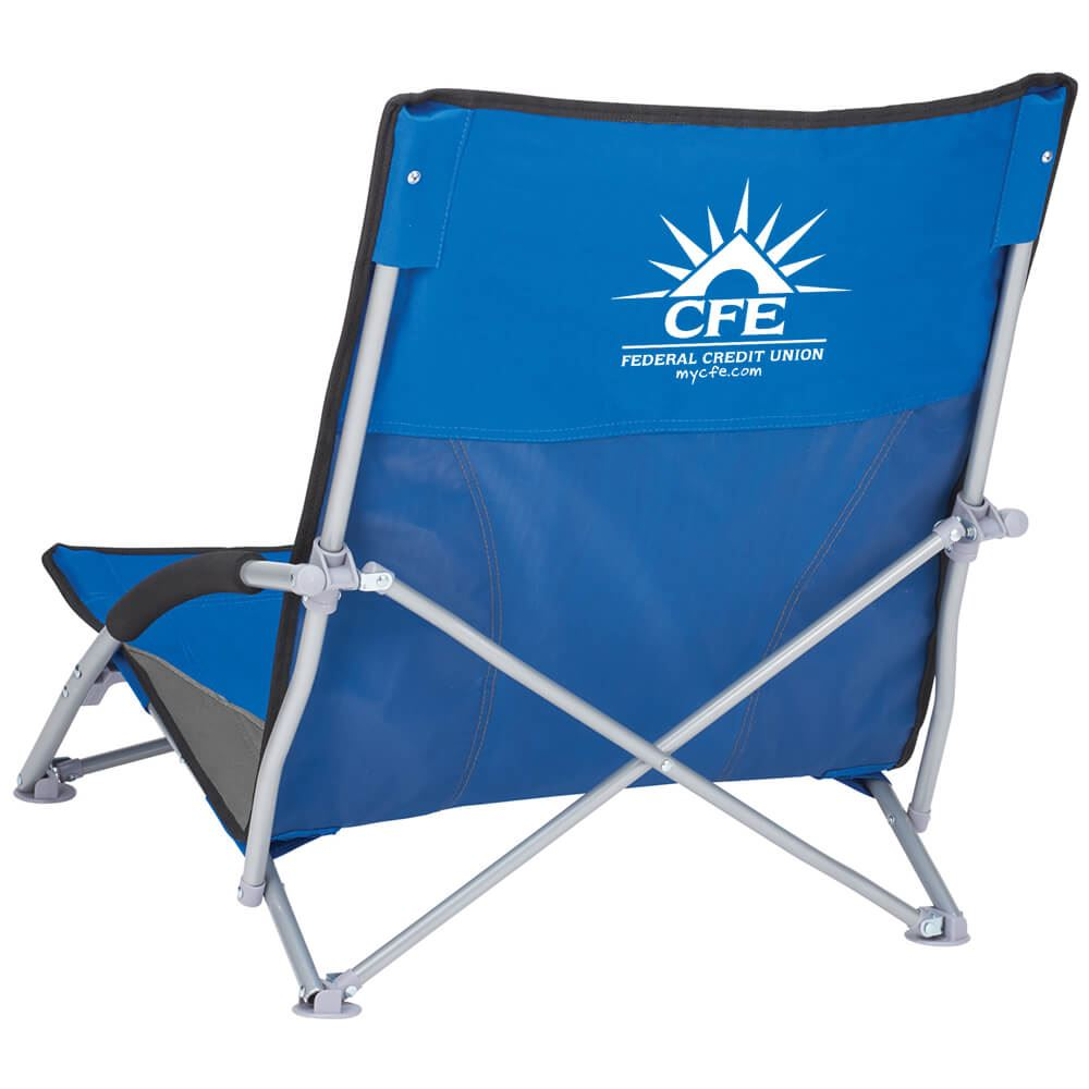 Low Sling Beach Chair - Personalization Available