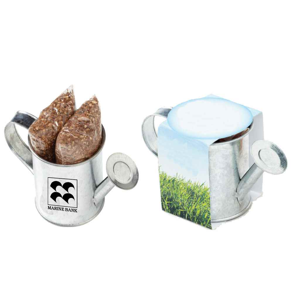 Seed Sensations Watering Can Planter Personalization Available Positive Promotions