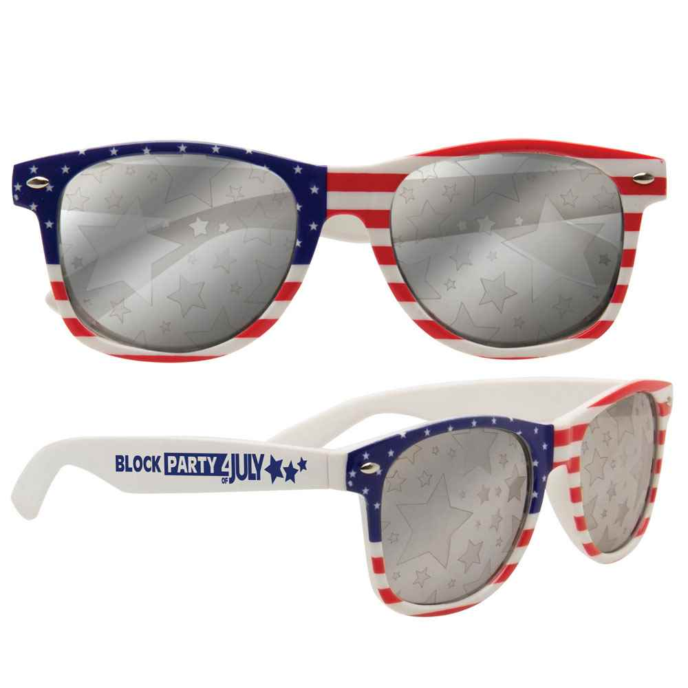 Patriotic Sunglasses - Personalization Available