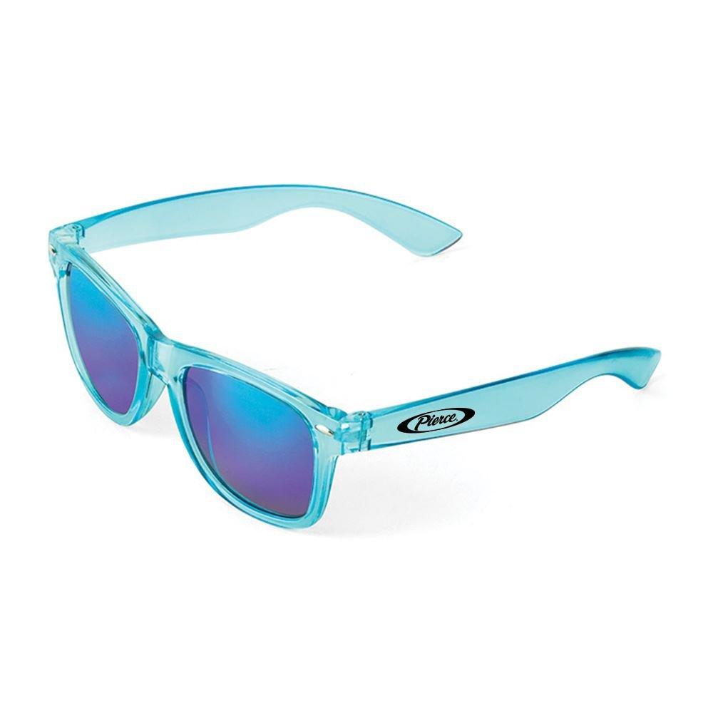 Waikiki Mirrored Tonal Sunglasses - Personalization Available