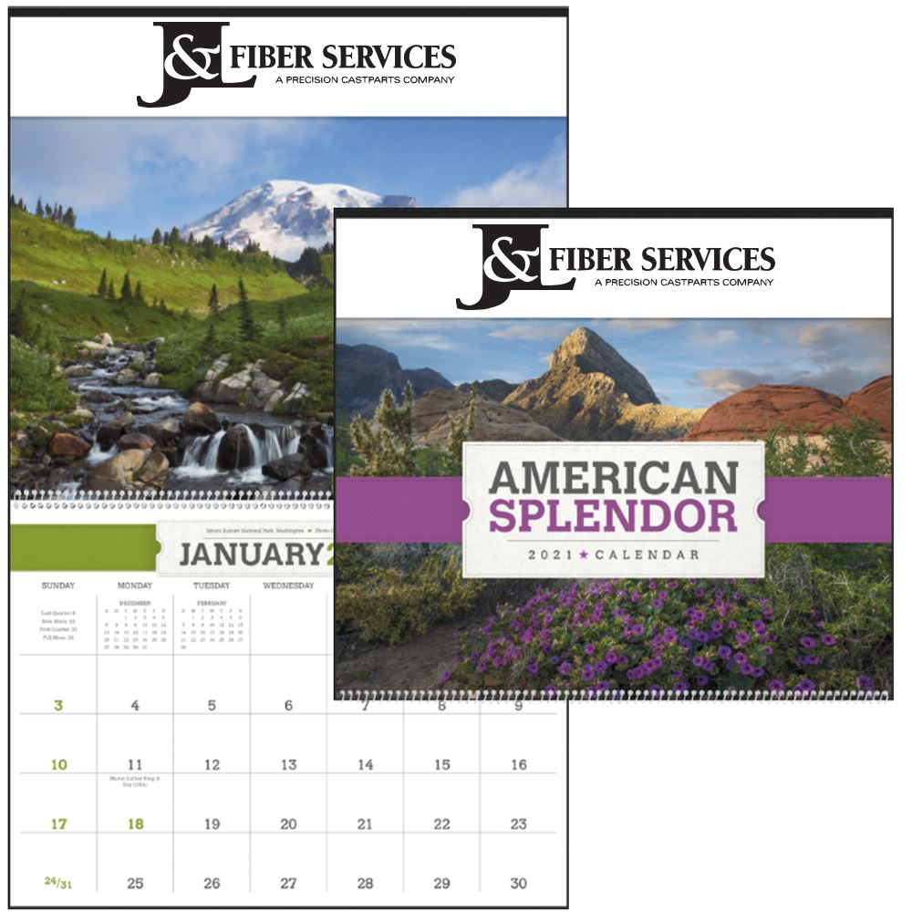 American Splendor Appointment Calendar - Bound - Personalization Available