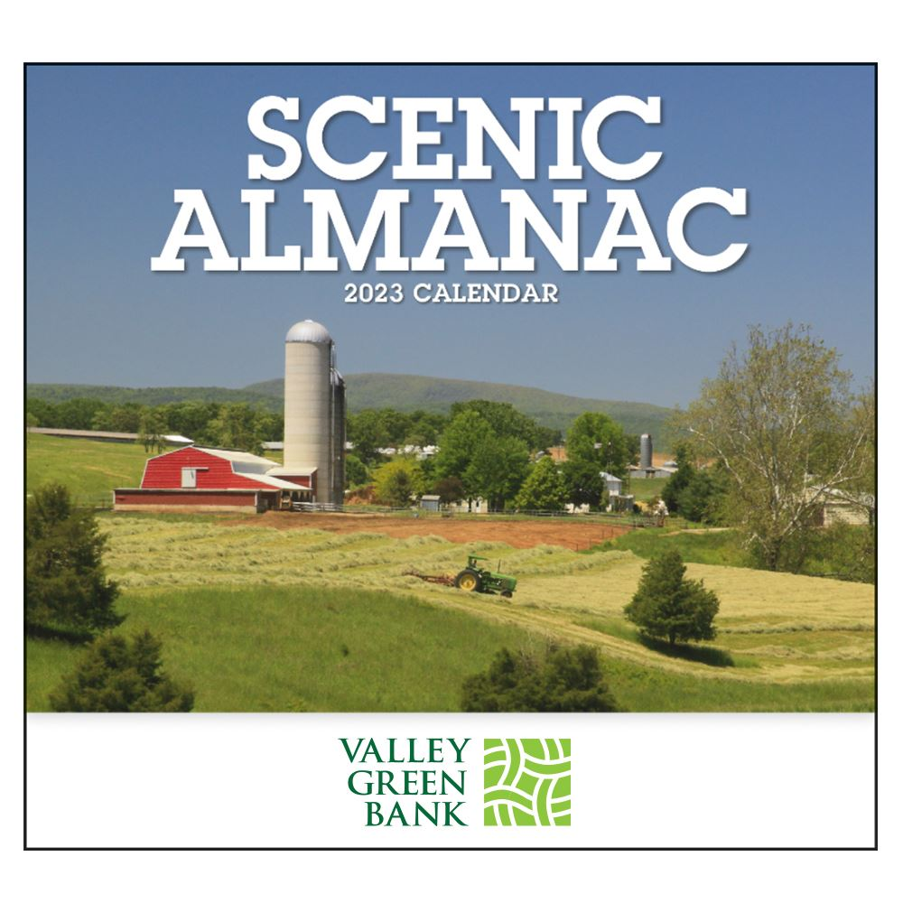 Scenic Almanac - Appointment Calendar - Stapled -�Add Your Personalization