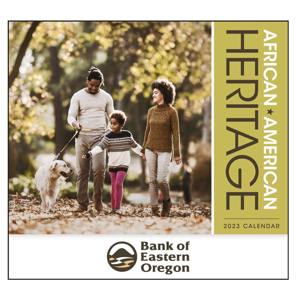 African-American Heritage: Family - Appointment 2022 Wall Calendar - Stapled - Personalization Available