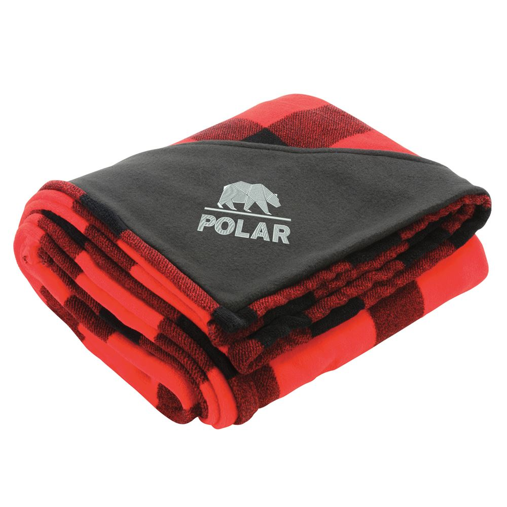 Buffalo Plaid Ultra Plush Throw Blanket - Personalization Available