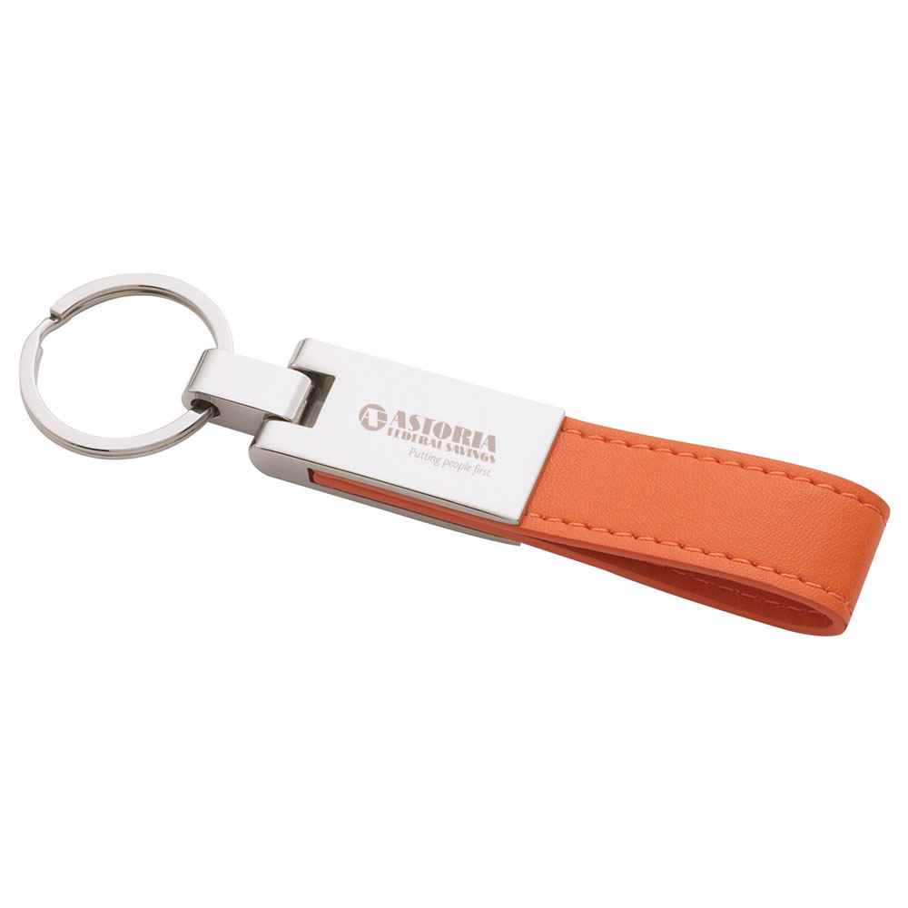 UltraHyde Silver Key Ring - Personalization Available