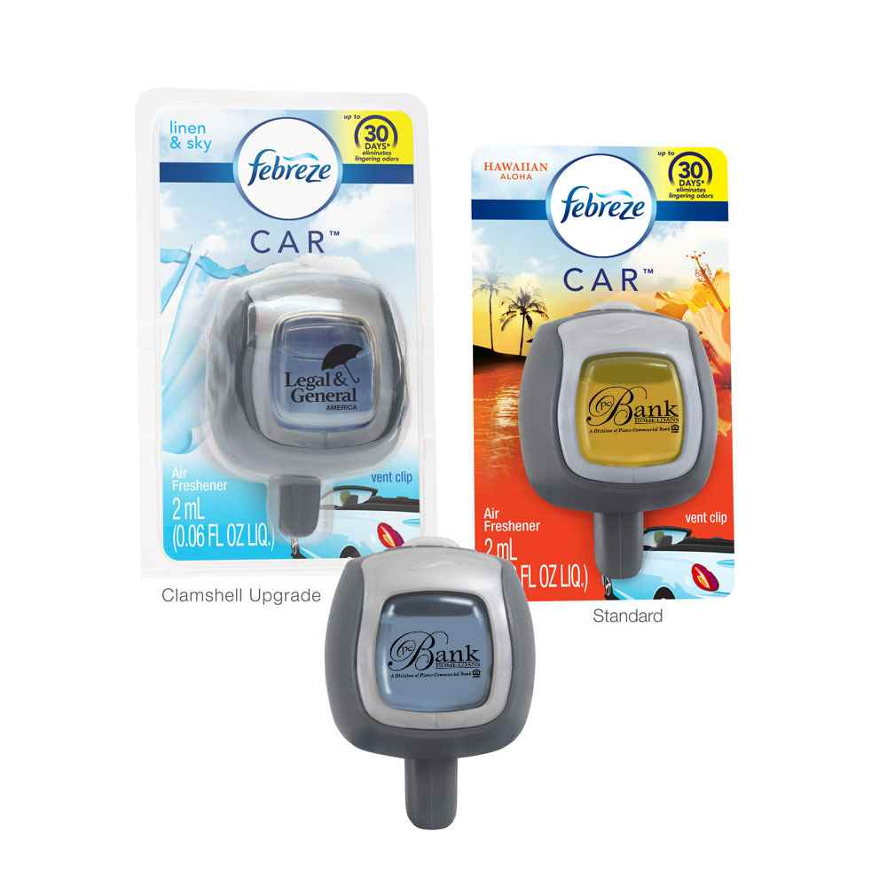 Febreze® CAR™ Vent Clip - Personalization Available