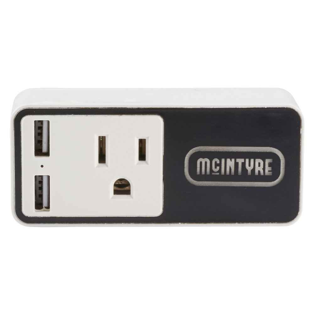 Light Up Logo Wifi Smart Plug With USB Output - Personalization Available