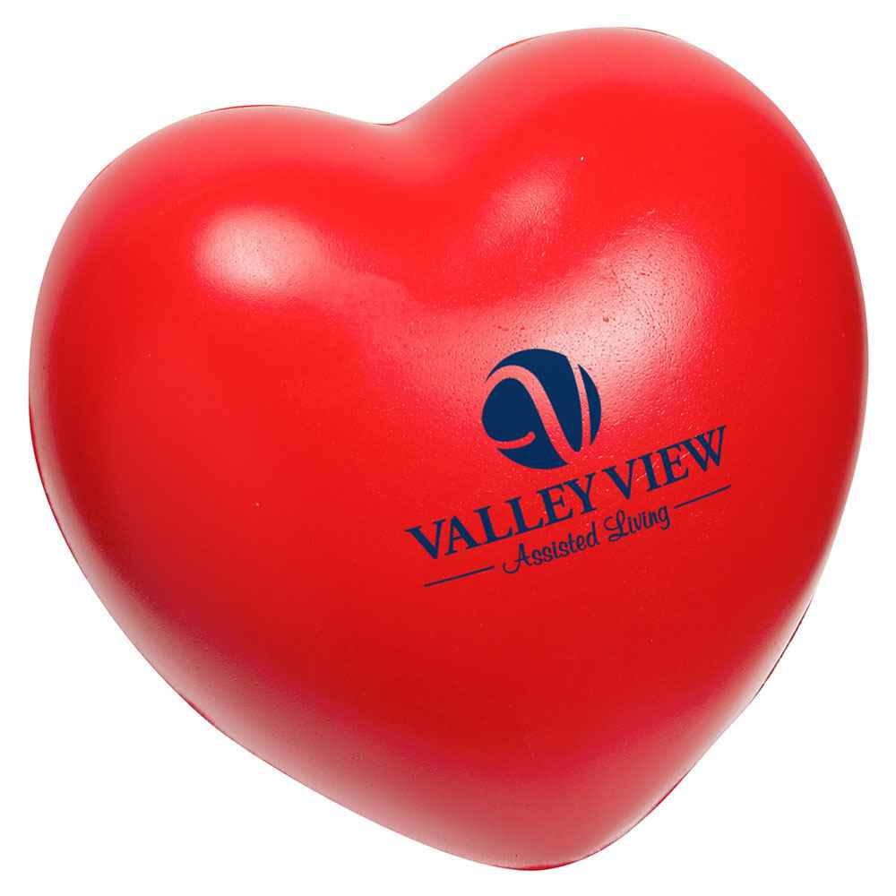 Heart Slo-Release Stress Reliever - Personalization Available
