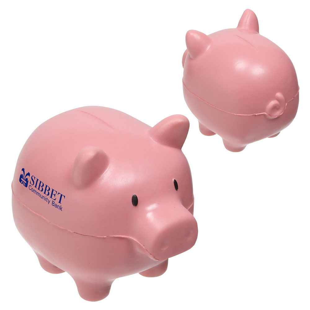 Piggy Bank Slo-Release Stress Reliever - Personalization Available
