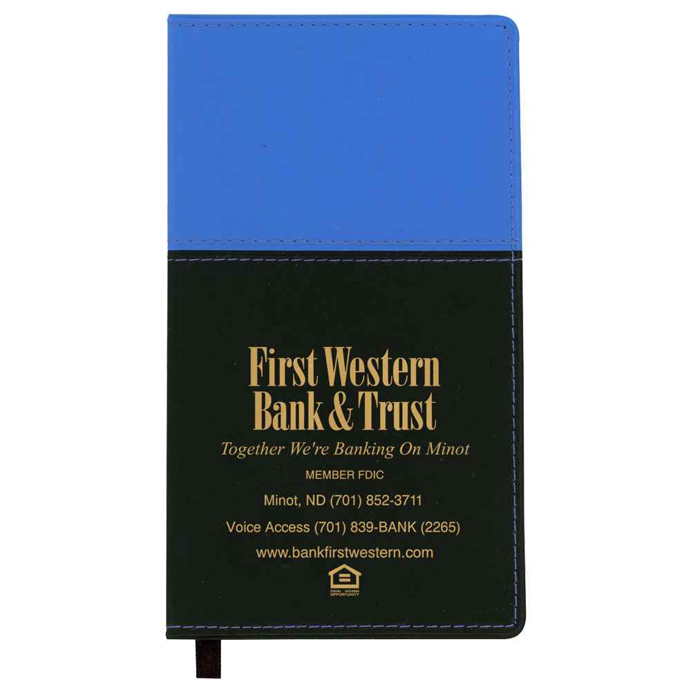 Mystic Two-Tone Vinyl Soft Cover 2021 Monthly Planner - Personalization Available