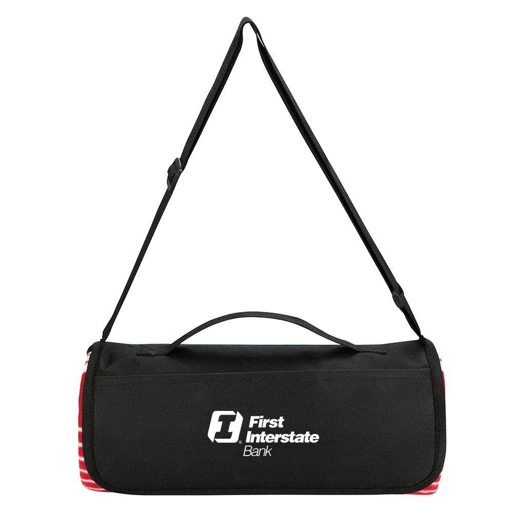 Shoulder Strap Picnic Blanket - Personalization Available