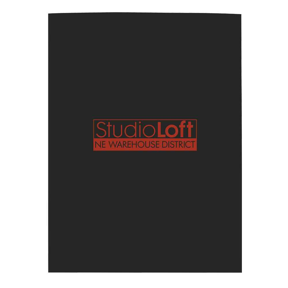 Gloss Paper Folder - Personalization Available