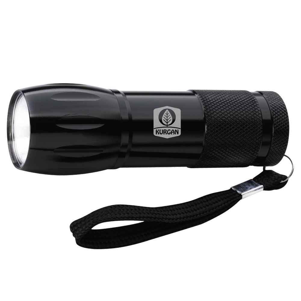 Mini Aluminum COB Flashlight - Personalization Available