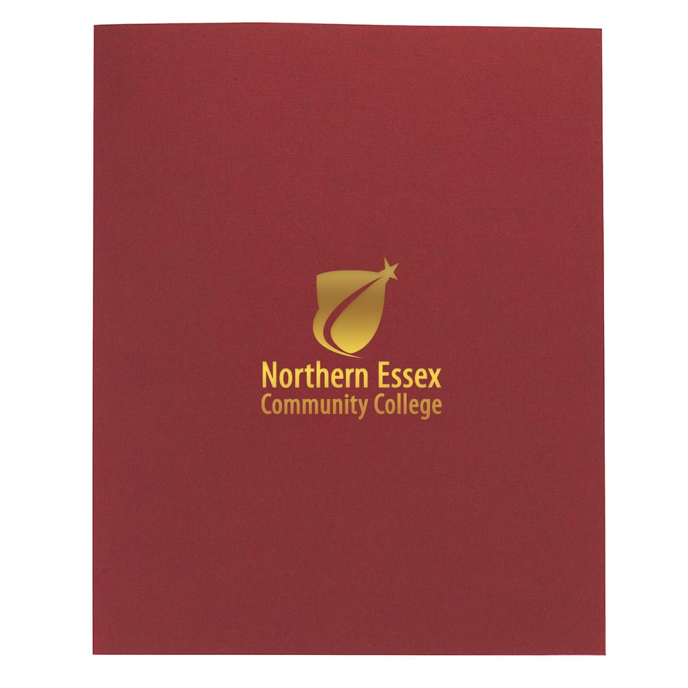 Linen Paper Folder - Personalization Available