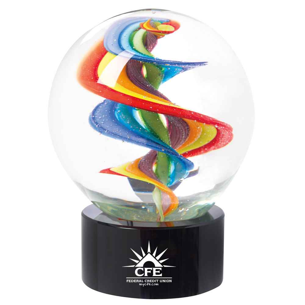Rainbow Swirl Award - Personalization Available
