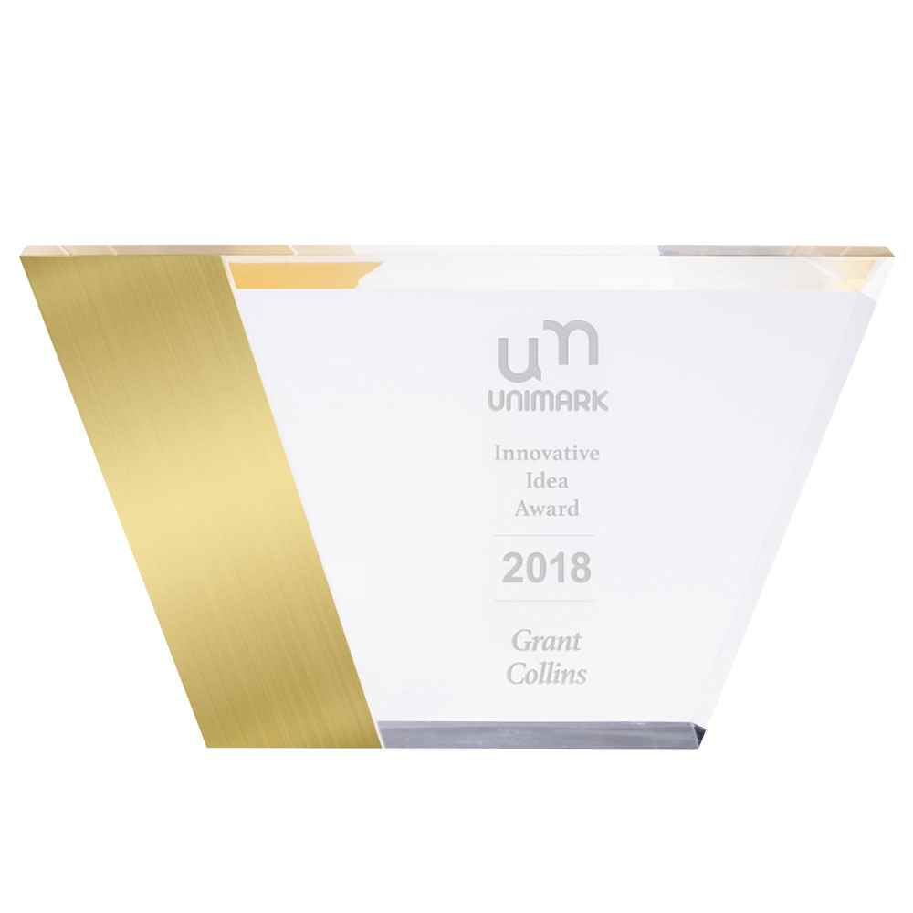 Metallic Award - Personalization Available