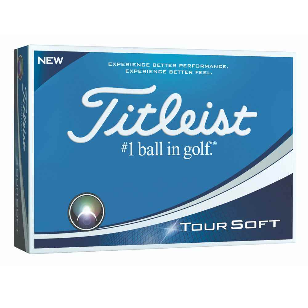 Titleist® Tour Soft Golf Balls (24 Hour Service) - Personalization Available