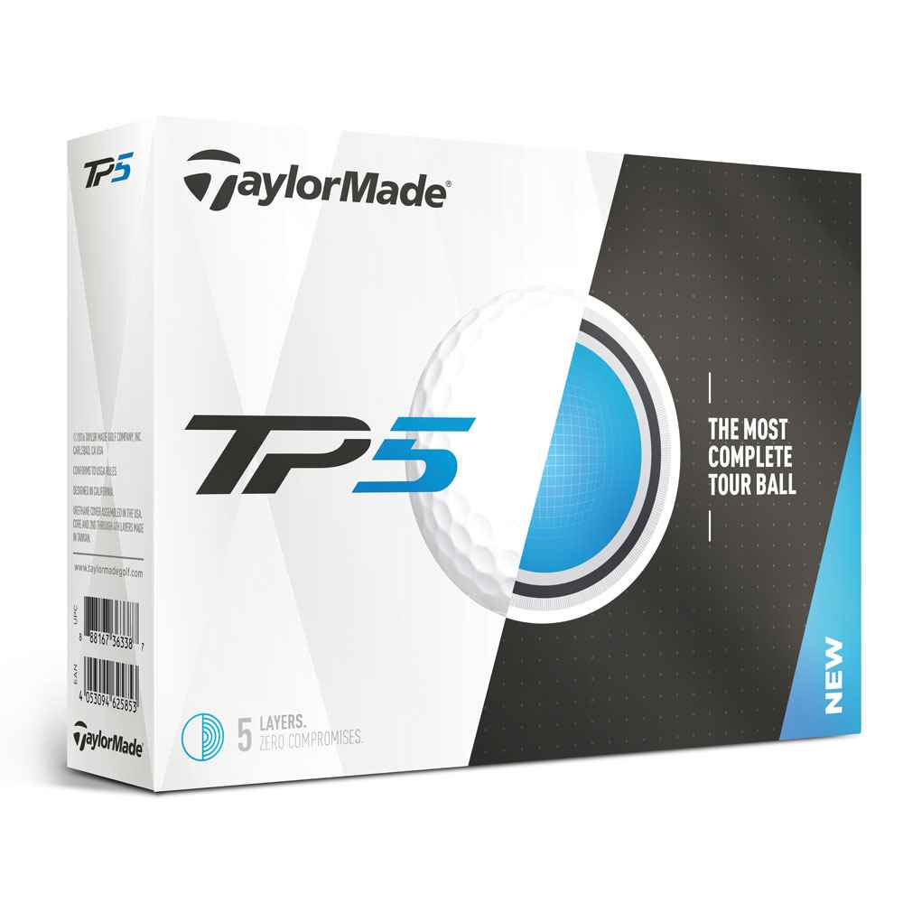 TaylorMade® TP5 Golf Balls - Personalization Available