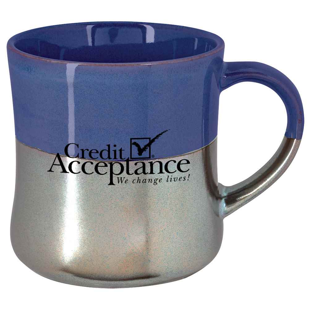 Two-Tone Iridescent Mug 16-Oz. - Personalization Available