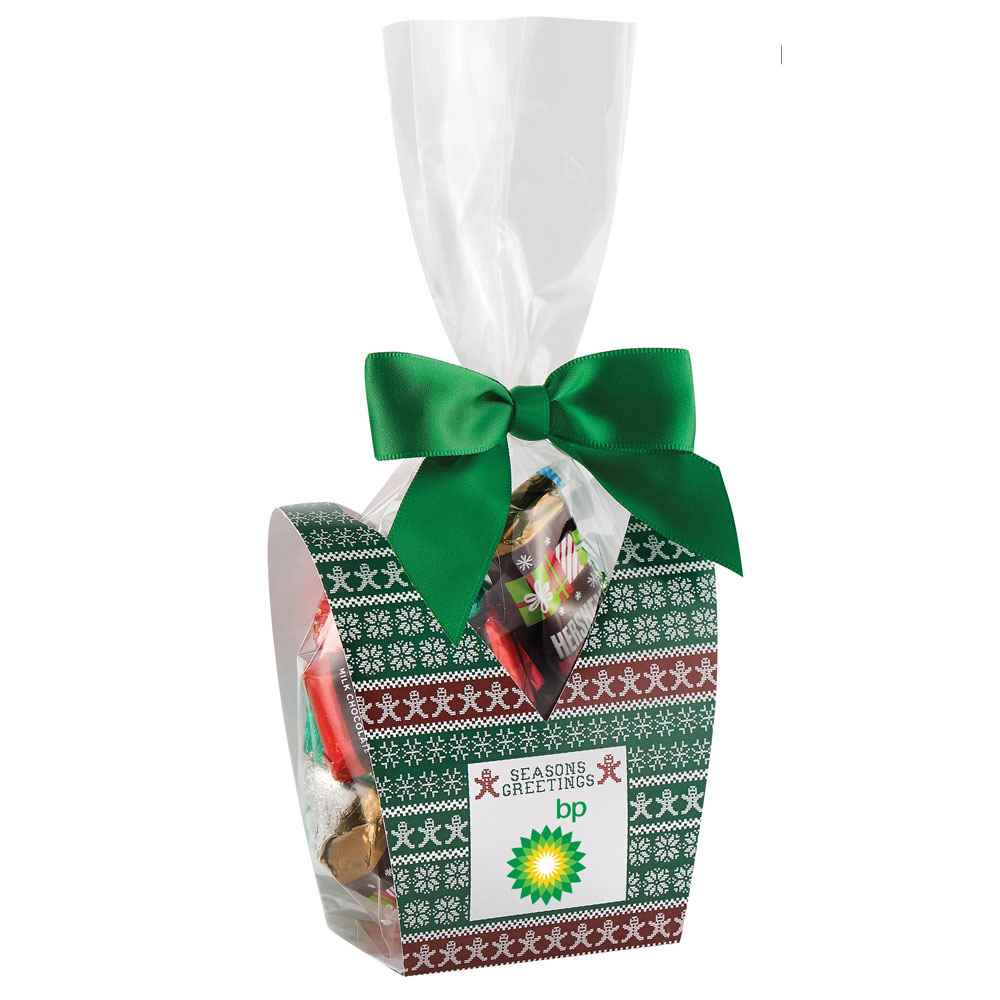 Ugly Sweater Desk Drop With Hershey's® Holiday Mix - Personalization Available