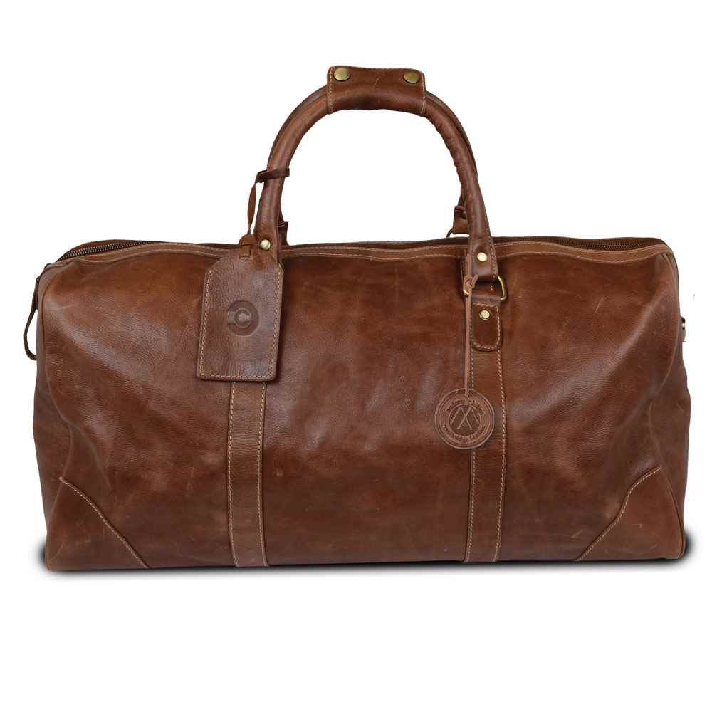 Westbridge Leather Duffel - Personalization Available