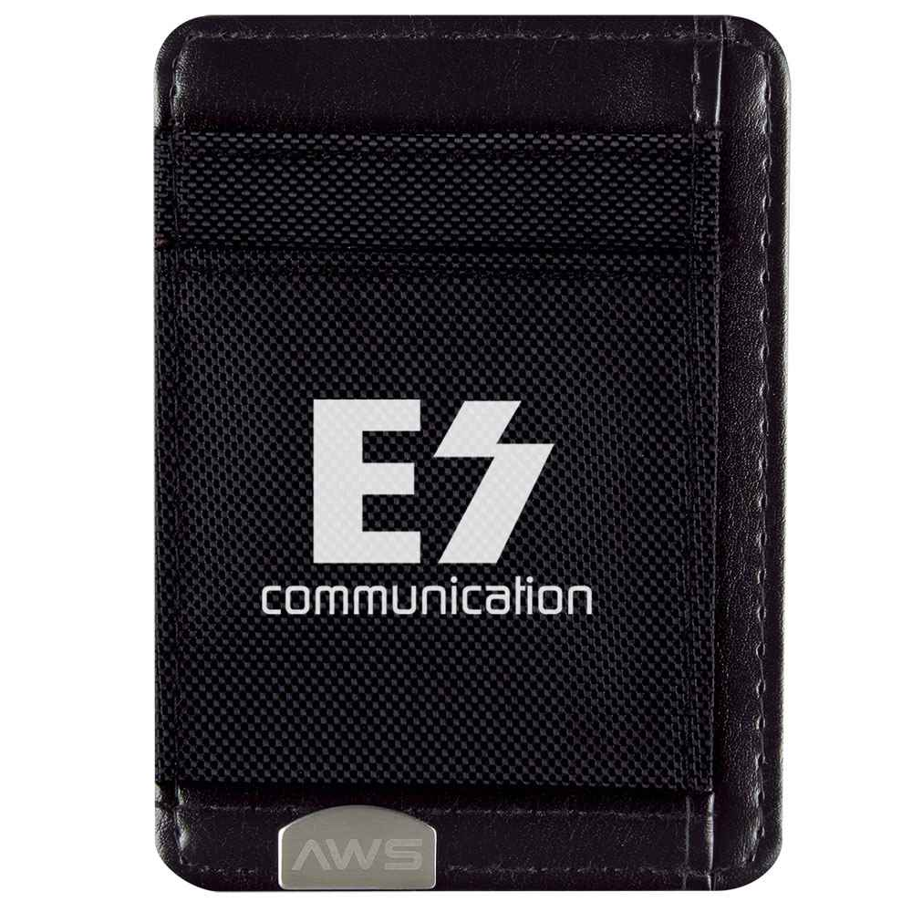 Executive RFID Money Clip Card Holder - Personalization Available