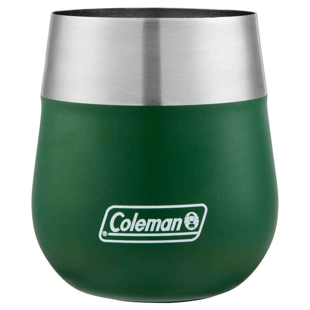 Coleman® Claret Stainless Steel Wine Glass 13-Oz. - Personalization Available