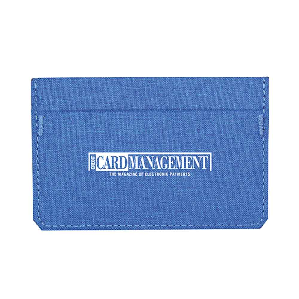 Heathered RFID Wallet - Personalization Available