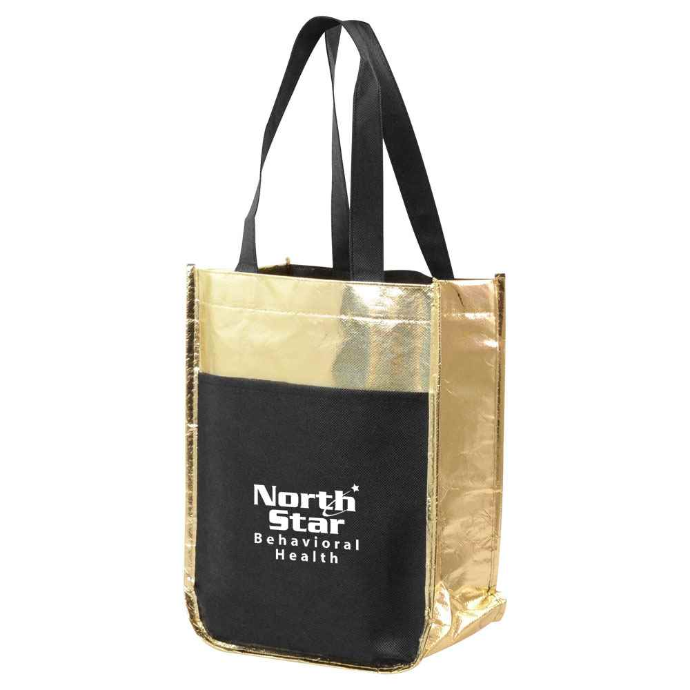 Metallic Poly Pro Mini Tote - Personalization Available