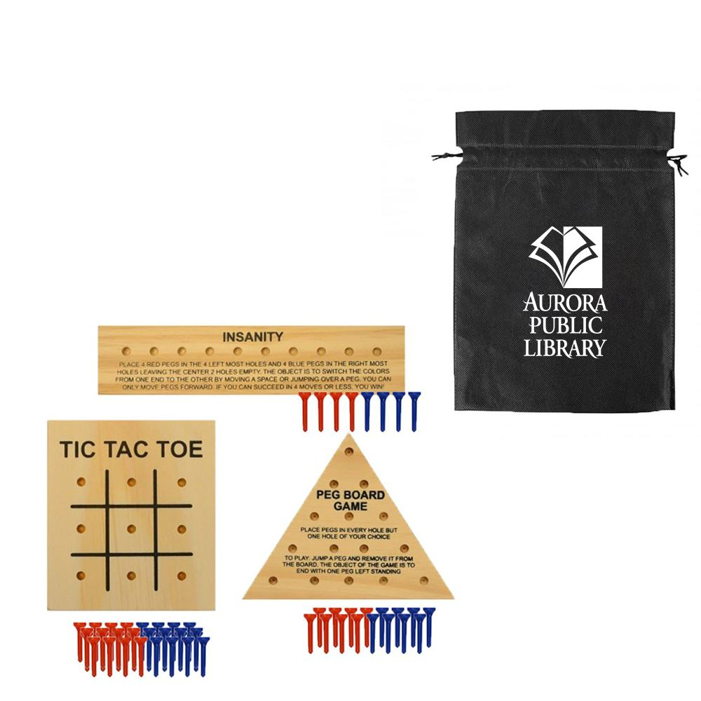 Fun On-The-Go Games - Wood Teasers - Personalization Available