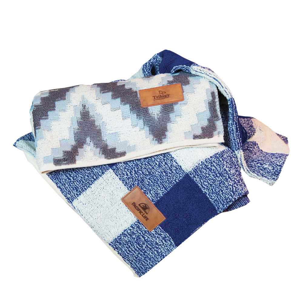 Chevron Berber Blanket - Personalization Available
