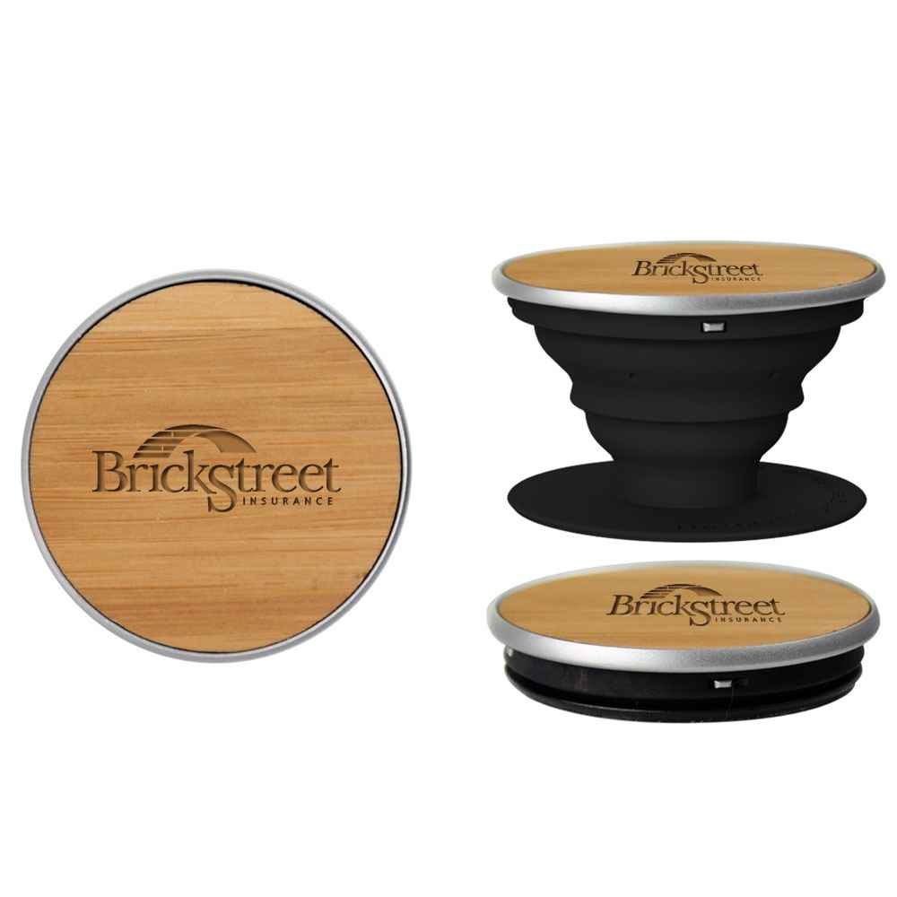 Wood PopSockets® PopGrip - Personalization Available
