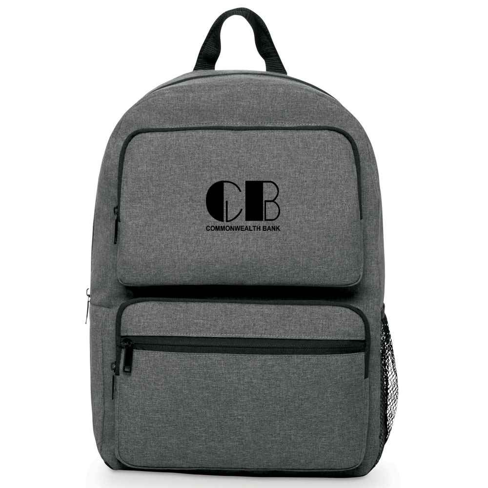 Business Smart Dual-Pocket Backpack - Personalization Available