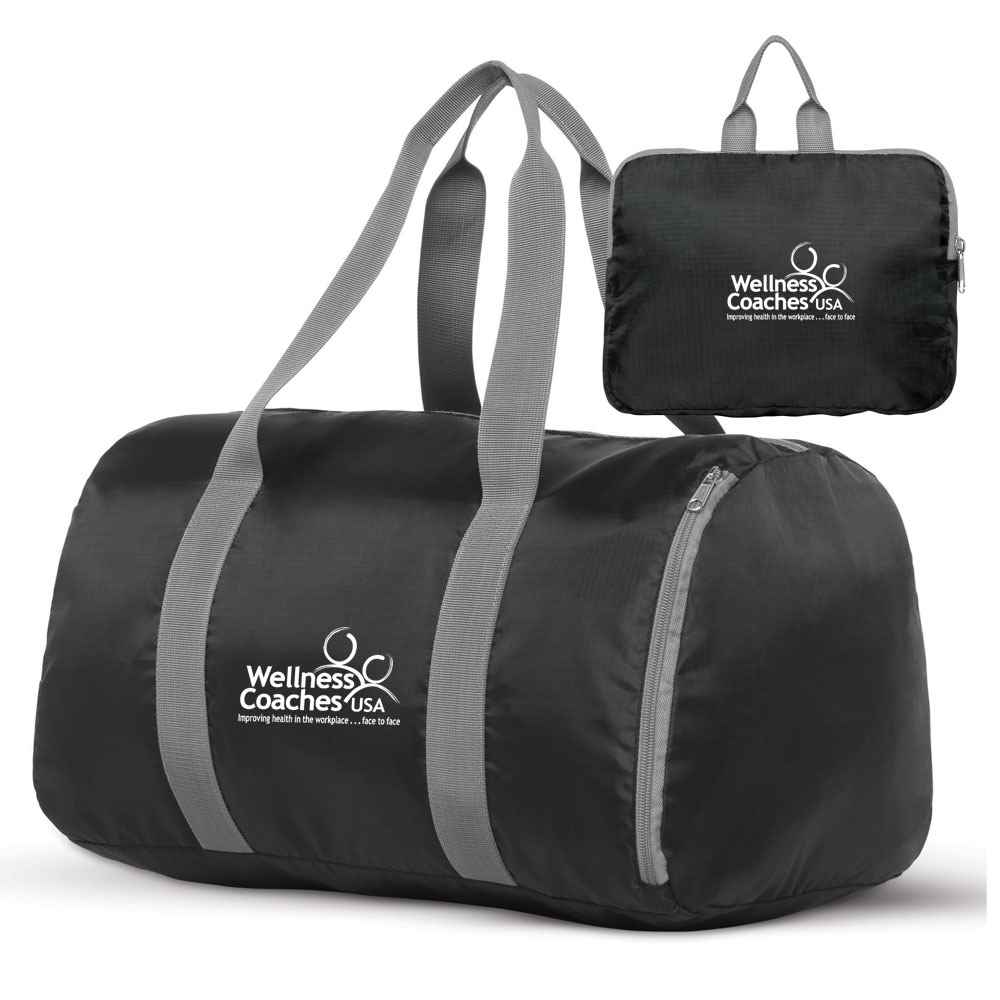 Make It Pop Packable Duffel Bag - Personalization Available