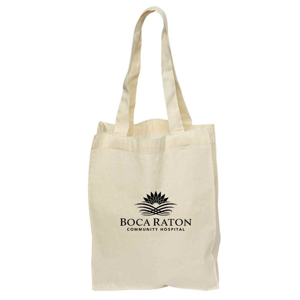 Mini Cotton Gift Tote - Natural - Personalization Available