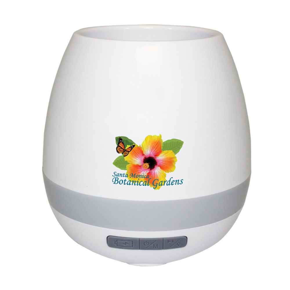 Musical Planter & Wireless Speaker, Full Color Digital - Personalization Available