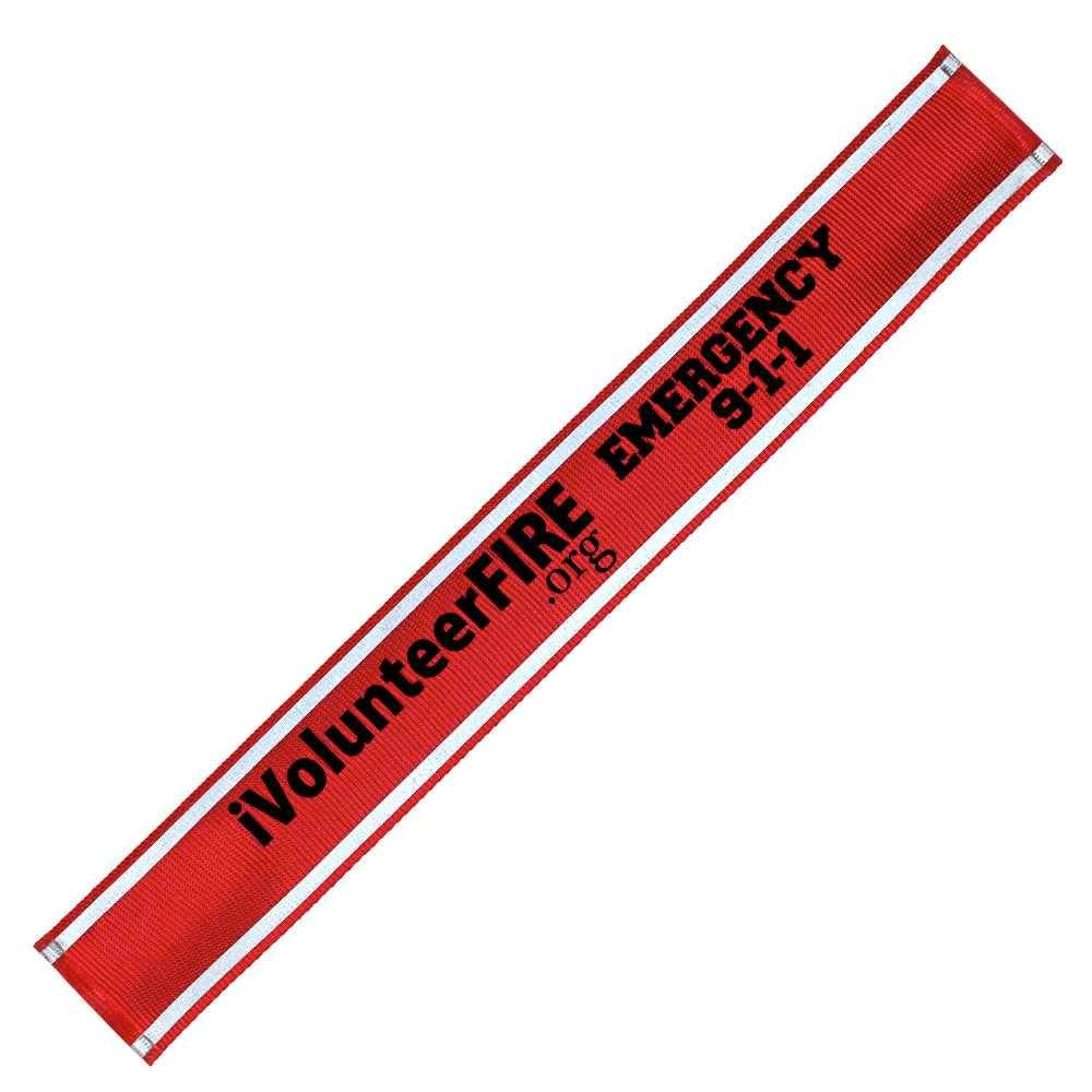 Nylon Reflective Snap Band - Personalization Available
