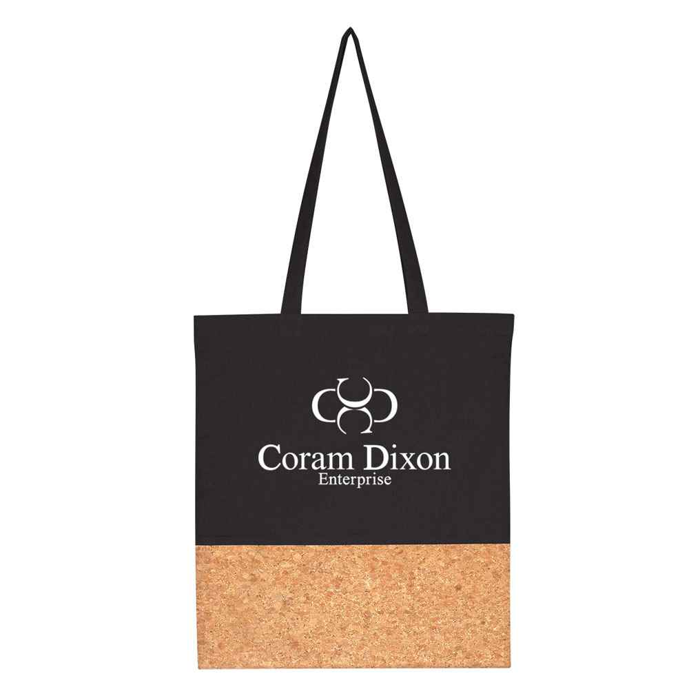 Somerset Cork Tote Bag - Personalization Available