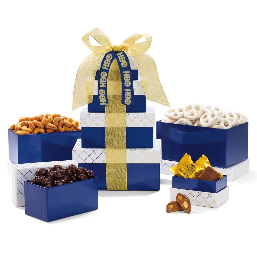 Classic Gourmet Treat Tower - Personalization Available