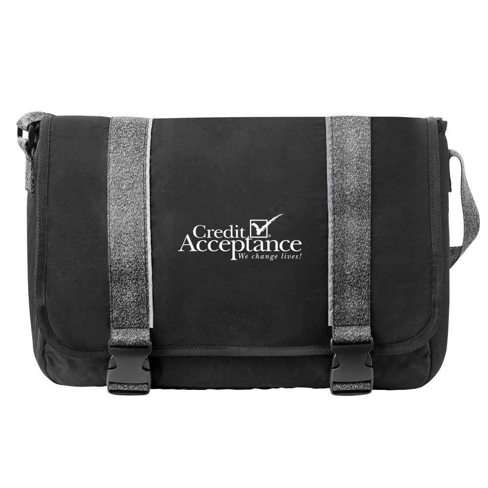 Athleisure Messenger Bag - Personalization Available
