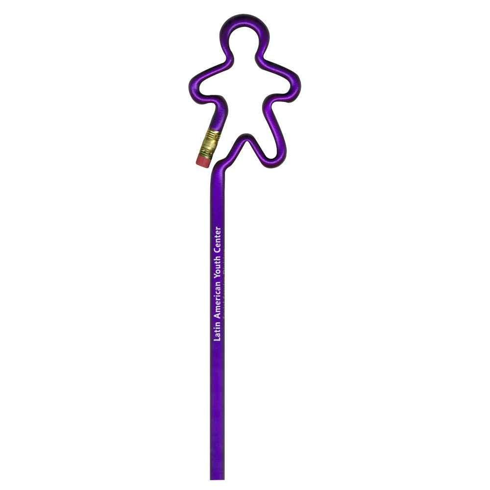 Bentcil® Gingerbread Man Pencil