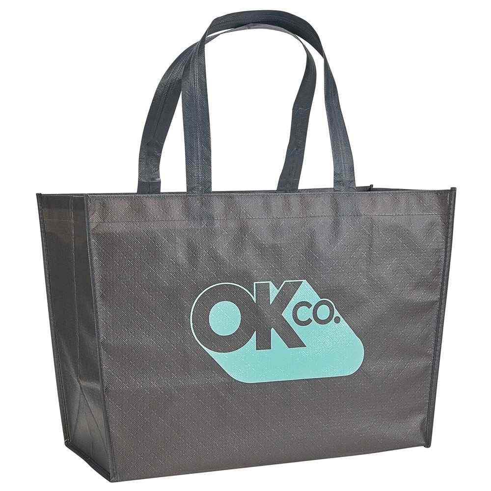 Alloy Laminated Shopper Tote