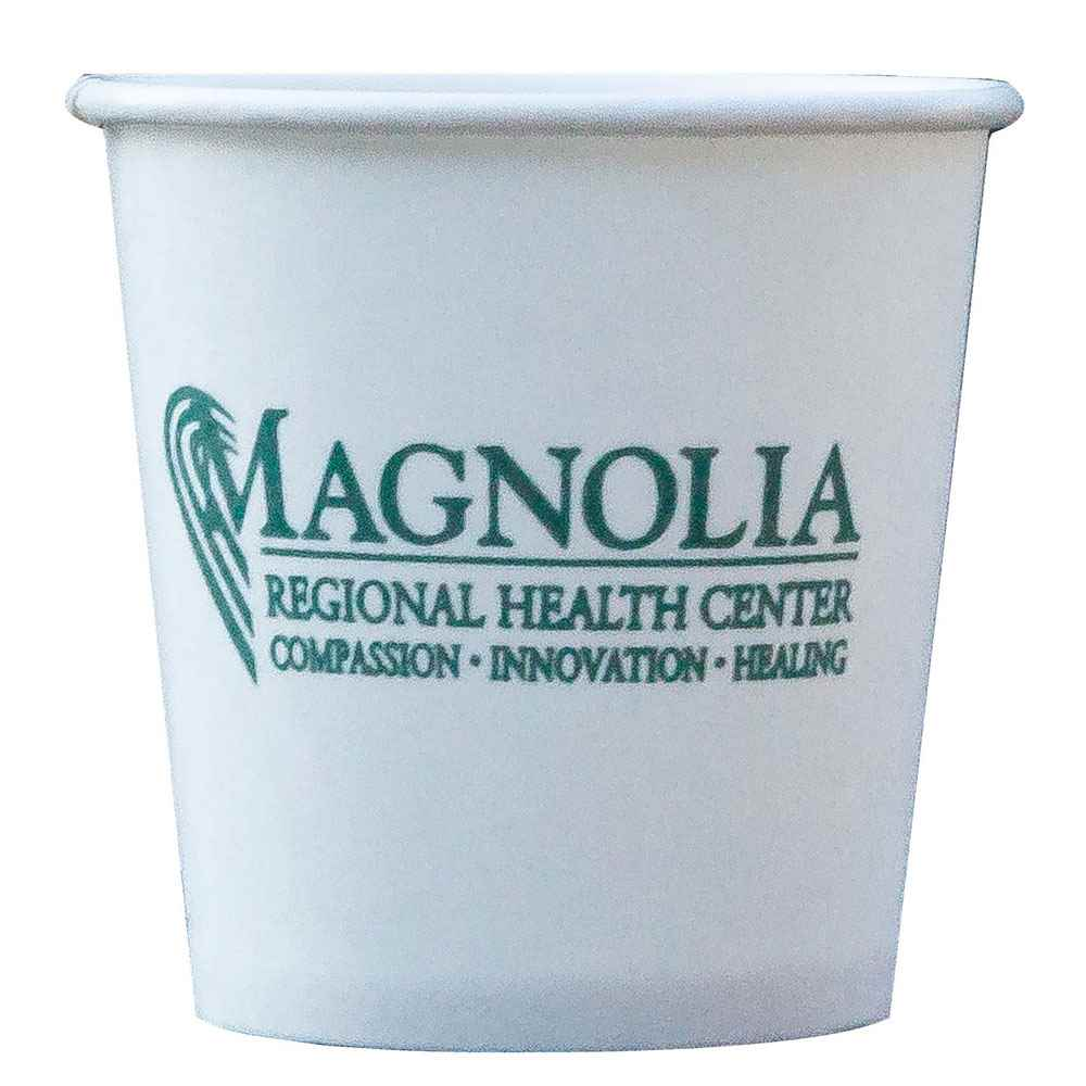 4-Oz. Hot/Cold Paper Cups - Personalization Available